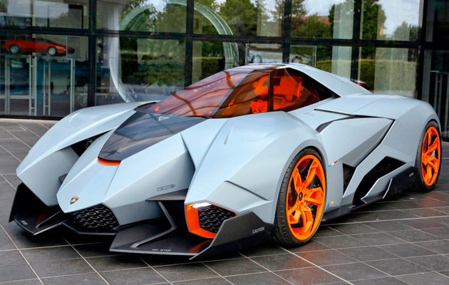 Lamborghini Egoista Krijgt Plaats In Museum Corsaitalia