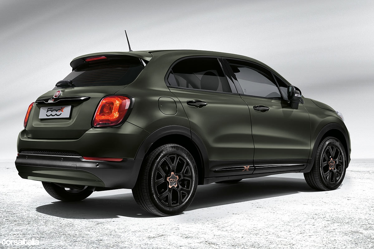 speciaaltje fiat 500x s design corsaitalia magazine. Black Bedroom Furniture Sets. Home Design Ideas