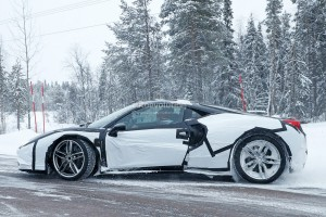 new-ferrari-dino-spied-testing-in-sweden-as-458-test-mule-with-v6-soundtrack 5